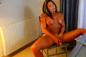 fitness mother i masturbating and watching porn