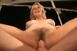 blond d like to fuck rides on the ottoman