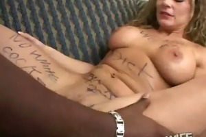hawt wife banged by hard darksome cock 12