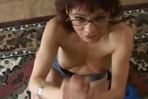 redhead mama licking balls and deepthroat part6