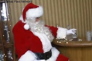 corpulent mamma nailed by concupiscent santa