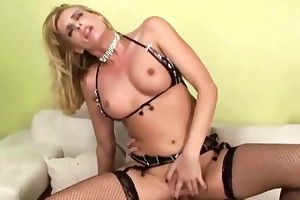 seductive golden-haired mother i gives awesome