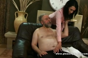 fat older chap fuck his trophy wife