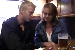 breasty older slut is picked up and screwed