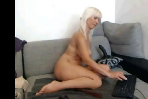 euro golden-haired d like to fuck on livecam