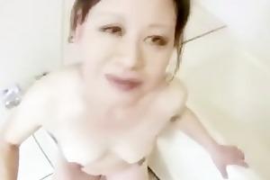 hot older japanese maiko sucks dong