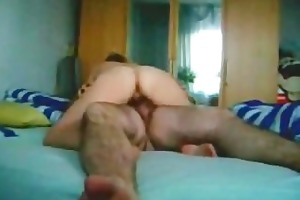 wife receives doggystyled and rides on penis