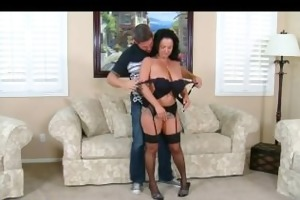 breasty wife pepper arse drilled hard