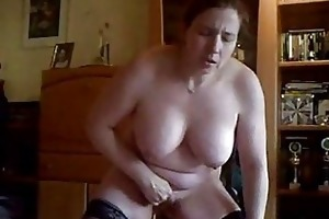 my slutty wife masturbate for in front of web