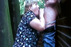 bulky big beautiful woman aged outdoor fuck and