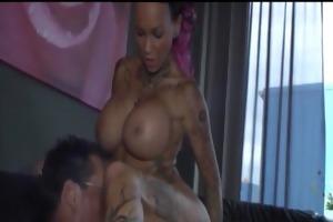 breasty tattooed d like to fuck fucking