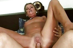 wicked granny receives her a-hole fucked