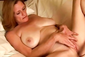 solo aged masturbation
