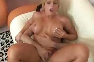 milf gets a hardcore titty fuck in her bikini