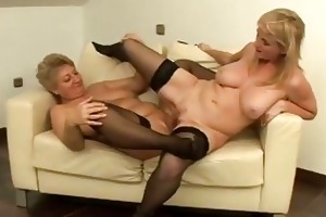 its mother i vs gilf in hot lesbo fucking!