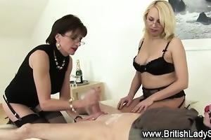lady sonia femdom tugjob cumshot