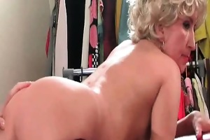 hawt and wicked blond older wench with large ass