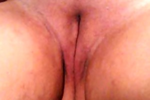wife masturbating with her beloved dildo