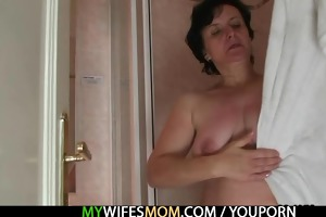 lewd man bangs his mother in law