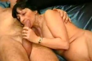 mother i oral-sex dilettante granny