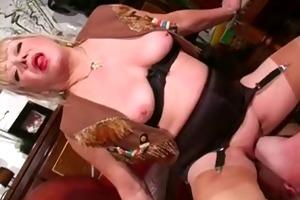 hawt aged female-dominant worship