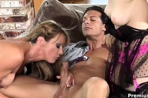 fortunate spouse nailing lascivious wife and