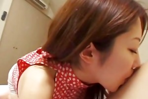 avmost.com - hot japanese chick gives a hand job