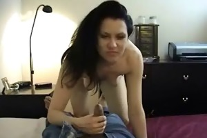 awesome sexy darksome haired d like to fuck bitch