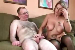 older pair make a tugjob video.