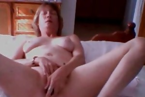 47 years divorced mother monique masturbates on