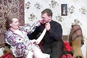 russian granny needs large juvenile chap
