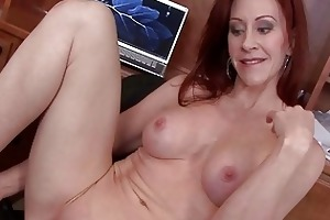 sexually excited and breasty mother i vixen pokes