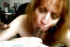 older engulfing knob and cum