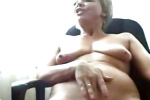 lustful granny on cam