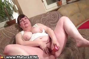 busty concupiscent housewife is gratifying part6