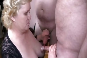 good granny with guys