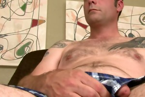 sterling is a str8 aged office worker with a