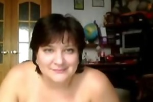 breasty housewife tessa 41 fingering at home
