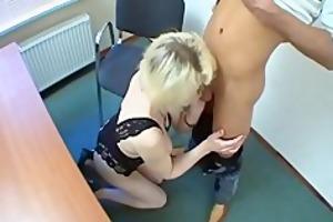 blonde russian granny acquire screwd for the st