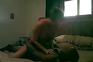 older woman riding bbc