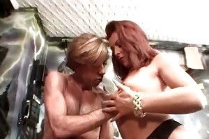 amazing red head doxy sucks and copulates part2