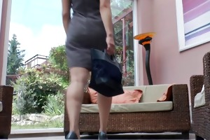 german huge-boobs-milf is back once more