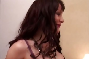 a french lady fucked in nylons