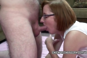 redhead mother i layla redd acquires her older