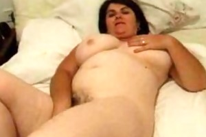 big beautiful woman ravishes her crater of a wet