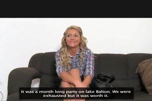 femaleagent. reality tv sweetheart tries porn.