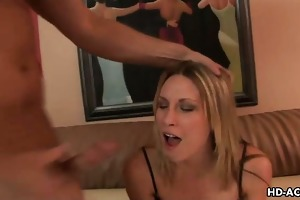 horny d like to fuck gags on biggest shlong