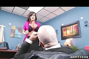 big-tit d like to fuck lisa ann is slammed by