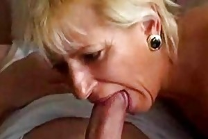 avid old mom acquires drilled hard