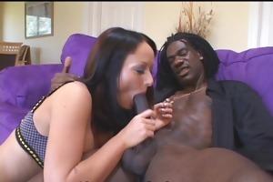 breasty wife sucks down large ramrod